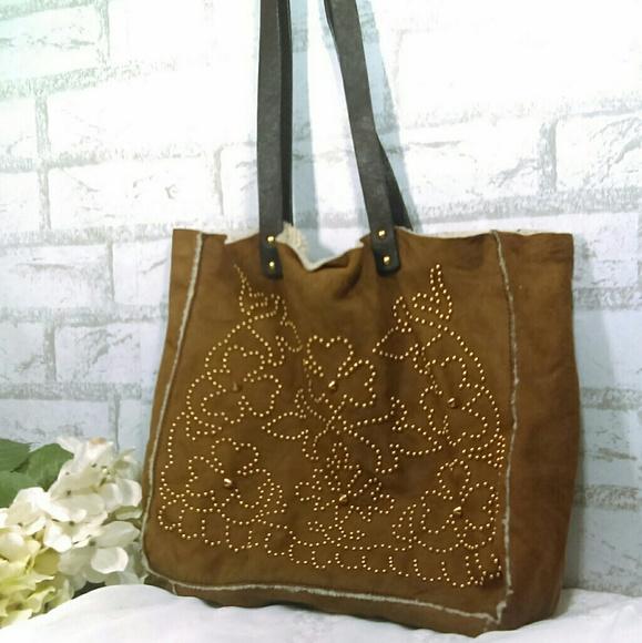 ... Prada Studded Shearing Tote Bag. M 5bff6c15de6f62a621361431 98ad238bc3